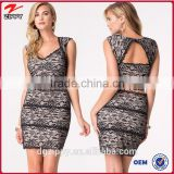New Women Summer Casual Floral Sleeveless Sexy Party black lace dress, black lace dress, dress woman 2015