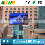 front open outdoor full color wireless 3G WIFI control LED sign / LED display / LED screen