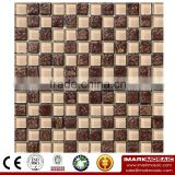 IMARK Electroplated Color Glass Mix Ceramic Mosaic Tiles (IXGC8-079) for back splash mosaic wall art
