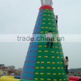 Outdoor inflatable climbing walls ,giant inflatable rock climbing wall good price for sale