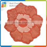 Beauty Deasign Flower Shaped Rug