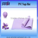Non-slip foam pvc yoga mat/wholesale pvc yoga mat/1730*610*6mm yoga mat
