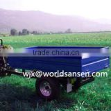 3 ton farm trailer for tractor,tipping box trailer with CE, atv lift system atv log trailer with crane