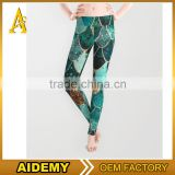 Sublimated bodybuilding yoga legging / fitness leggins / Keeping Fit tights woman leggings