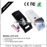 rechargeable external battery charger for mobile phone,camera,AA/AAA Ni-MH/Ni-CD Batteries