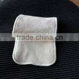 Wholesale 3 layers or 4 layers Natural Organic hemp cotton cloth diaper Inserts nappy inserts 13.5*35CM