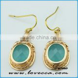 Light blue Color Teardrop Earring Jewelry for Women beautiful simple earring jewelry