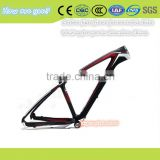 High Quality Spring Men Women Bicycle Frame Carbon Fiber with Glasses free provide USB light