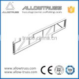 Factory price Aluminium bolt lighting ladder truss, roof truss system, screw-type ladder truss