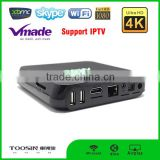 bluetooth audio decoder Smart TV Box Pre-Installed Kodi 15.1 Fully Loaded APP Android TV Box
