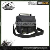 Camera Shoulder Bag, Evecase Small Nylon Shoulder Case Bag For SLR / DSLR, and High Zoom Camera,black and green