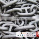 anchor chain, HDG chain, hot dipped galvanized, dock fender chain/ stud link anchor chain for ship