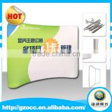 high quality exhibition booth trade show tension fabric displays backwall for meeting