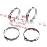 automobile car accessory stainless steel clip high pressure galvanized hose swivel clamps
