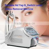 Professional Portable Nd Yag Long Pulse Naevus Of Ota Removal Laser Nevus Removal Machine Facial Veins Treatment