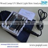 UV black light Woods lamp B601Factory promotion wood lamp magic mirror skin analyzer portable