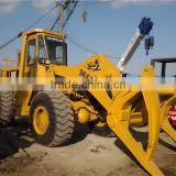 China Sell Used Wheel Loader Attached Fork Cat 966C /Used Caterpillar 936E 950E 966C 966D 966E Wheel Loader