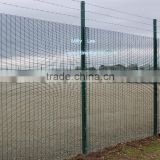 "Anti Cut Fence ,3'' x 0.5"" x 8 gague wire fence/ 358 prison fence panels/ security welded prison mesh fence direct factory"