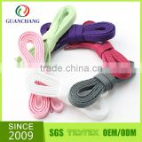 Factory bulk polyester elastic no tie shoelaces for sale