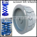 low price scissor lift and boom lift parts, Upright 061848-00115x5 wheel and tire assembly