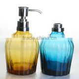 Amber Colored glass empty shampoo bottles wholesale