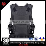 hot sale Micro mesh polyester fabric tactical vest with plastic zipper many pockets for finishing and hunting