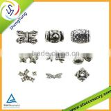 customized wholesale metal gallery beads