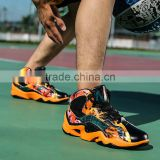orange men cool basketball shoes/xnbu orange basketball sport shoes breathable sports shoes/athletic sports basketball shoes
