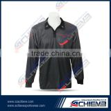 100% Polyester printing customized tournament fishing jerseys