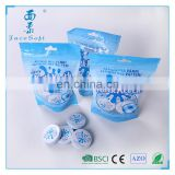 compressed to round shape coin mini magic tissue Nonwoven Fabric Disposable Kitchen Towels
