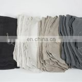 customized vintage/ kitchen linen/cotton tea towel in solid colors plain for wholesale with printing/embroidery