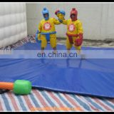 Inflatable sumo game, inflatable sumo wrestling, sumo suits for sale