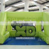 2015 popular hot sale outdoor inflatable football toss game for adults