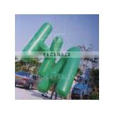 Inflatable helium blimp with customized size for events