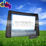 inflatable projecter screen