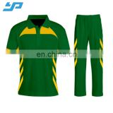 Custom brand logo sublimation printing cricket apparel wholesale custom cricket uniform