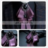 Aidocrystal Bowtie men formal necktie boy Men's Fashion business wedding Male Dress Shirt bow tie
