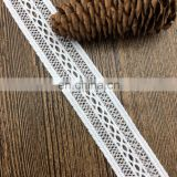2.9cm OLT15738 net border beaded bridal embroidery lace trim