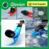 Cool manual sport nice tool snowball thrower for winter outdoor activities