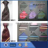 polyester jacquard woven fabric stripe neckties
