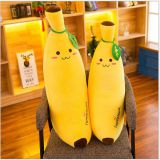 Factory direct soft banana plush toy
