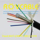 Floating cable for PUR underwater robot for Pipeline robot useful