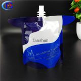 Milk and beverage filling bag/food grade plastic stand up spout composite packing bag