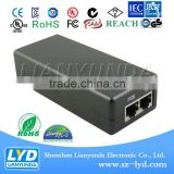 Shenzhen LYD supplier 48volt POE power supply with C8 C14 C6 Connection for LED display/LCD TV/CCTV system