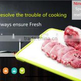 New Design Aluminium Material Magic Refrigerator Small Defrosting Tray For Meat
