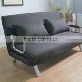 Modern Living Room Steel Structure Cheap Fabric Sofa Bed Folding Futon Sofa Bed China Supplier