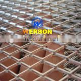 Aluminium Expand machine mesh grille,silver and powder coatednded mach