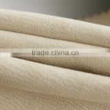 JYH white brushed sofa fabric for upholstery and home textile                                                                                                         Supplier's Choice
