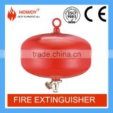 High quality Howdy automatic 8kg bc powder filling hanging cylinder fire extinguisher fire fighting equipment