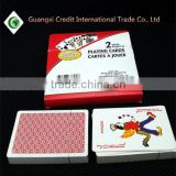 Custom High Quality Printing Bridge Size Paper Poker Card Blank Playing Cards